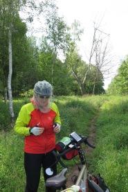 R10: durchs Naturschutzgebiet mit Mücken und Bremsen