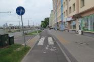 Gdynia: R10 entlang der Strasse