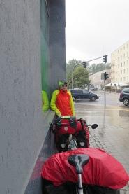 Gdynia: Regenschauer