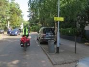 R10 Sopot: Umleitung für Radfahrende