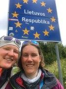 An der polnisch-litauischen Grenze.