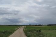 Unterwegs auf dem Green-Velo-Radweg.