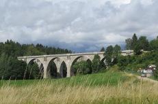 Viadukte von Stanczyki.