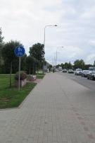 Veloweg nach Kaunas.