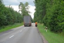 Verkehr ist ein wichtiger Teil des Tourenlebens.