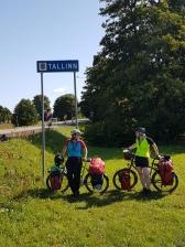 Wir haben Tallinn nach 4188km erreicht!
