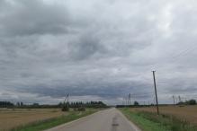 Ruhige Landstrassen gibt es auch in Litauen.