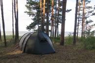 Derselbe RMK-Camping, windig, aber ein schöner Spot.