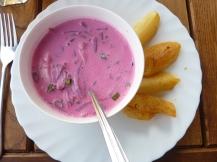 Kalte Randen-Joghurt-Suppe.