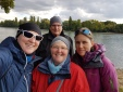 Mit Marianne und Günter am Rhein!