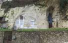 Wohnhöhle im Tuffgestein