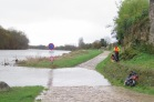 Die Loire führt zur Zeit sehr viel Wasser.