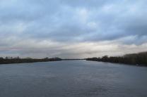 Die Loire ist teilweise bis zu 500m breit.