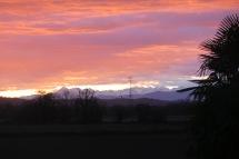 Pyrenäen am Morgen