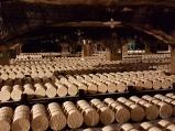 Roquefort reift im Keller.