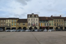 Stadtplatz in Marsiac