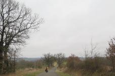 Im Gers gibt es Hügel...
