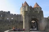Carcassonne, cité médiévale, Narbonne-Tor