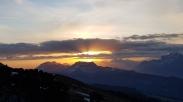 Sonnenaufgang vom Niederhorn aus
