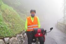 Auf dem Weg nach Sigriswil lichtet sich der Nebel langsam.